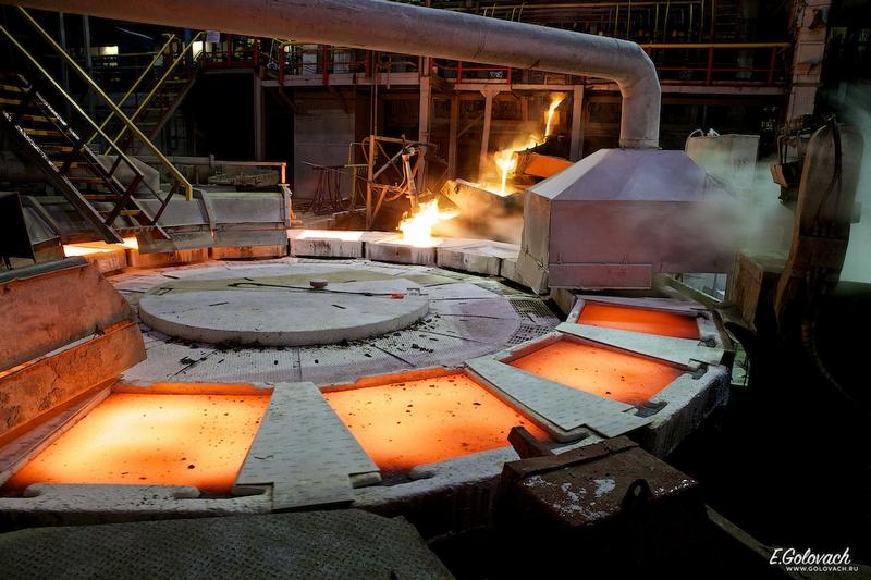 Making Copper Wire In Russia