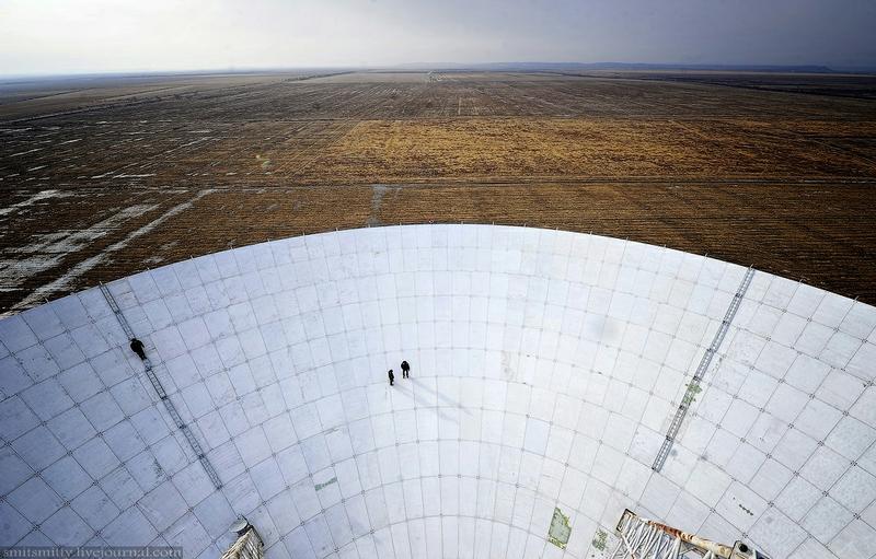 Visiting the Huge Cosmic Eye