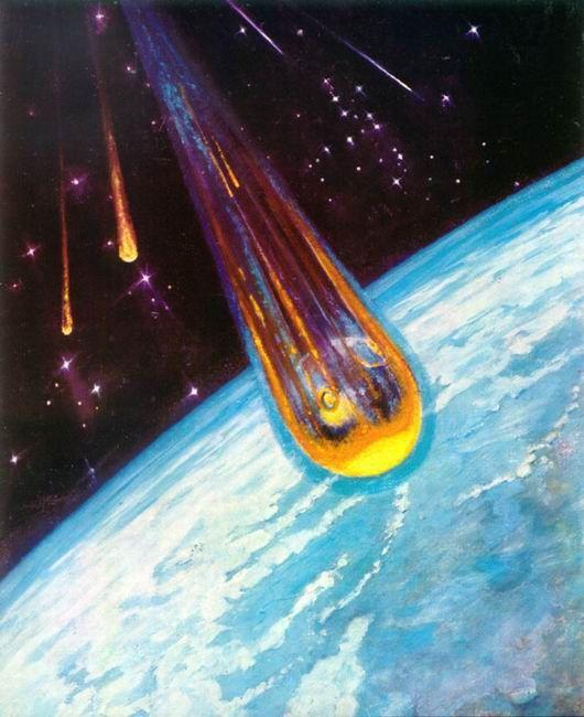 Soviet Cosmonaut Depicts Space