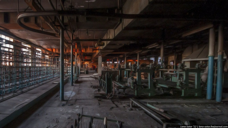 Old Weaving Mill As Creepy As It Can Be