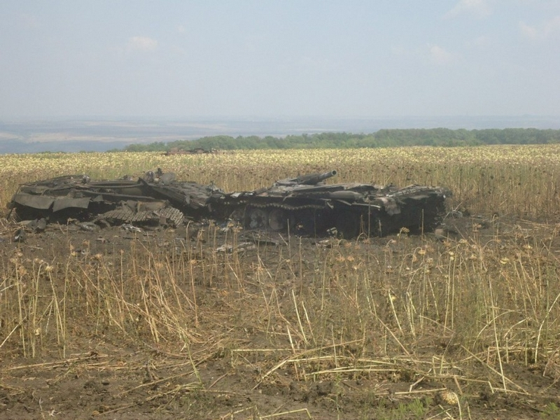 Tank Apocalypse in Donbass