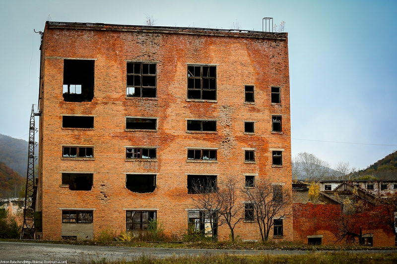 Once City Forming Mill Left To Decay