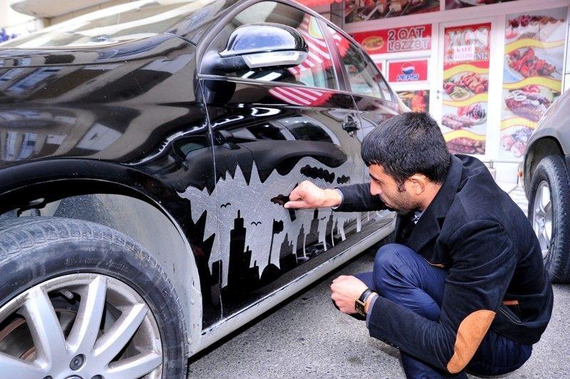 Dirty Car Artist From Baku