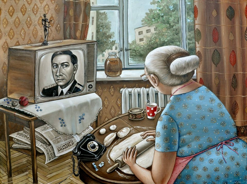 Funny Illustrations With Soviet Mood