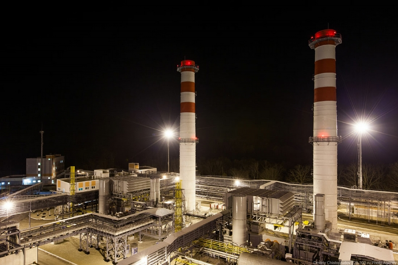 New Thermal Power Plant In the Olympic City