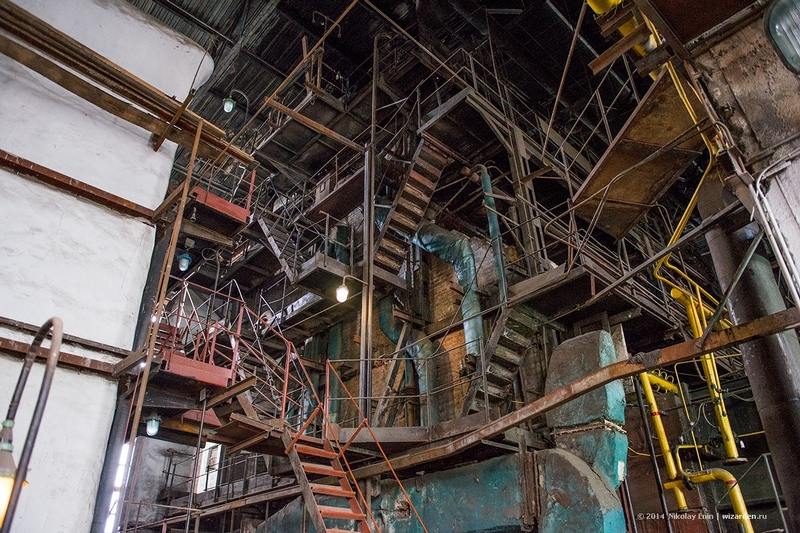Huge Siberian Electrical Machinery Plant