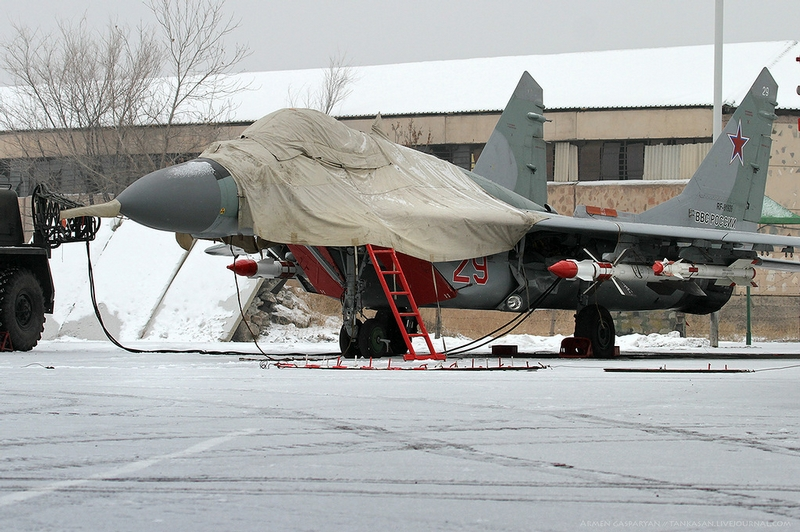Russian MiG Fighters In Armenia