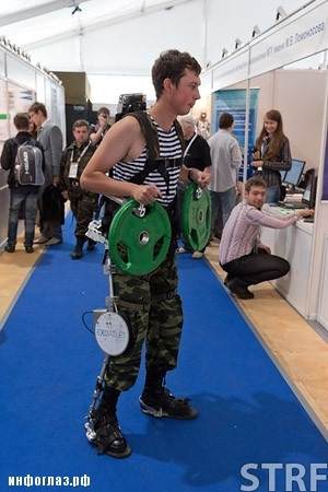 New Russian Exoskeletons