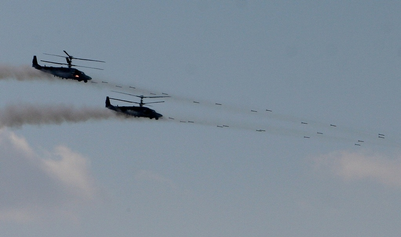 Large Scale Training For Russian Army Aviation And Artillery