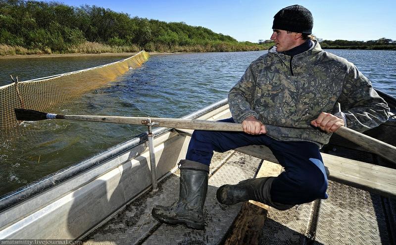 рыбная ловля в приморье