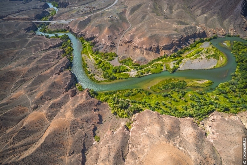 Breathtaking Photos of Kazakh Nature From the Height