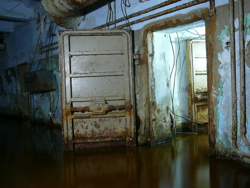Abandoned Flooded Shelter