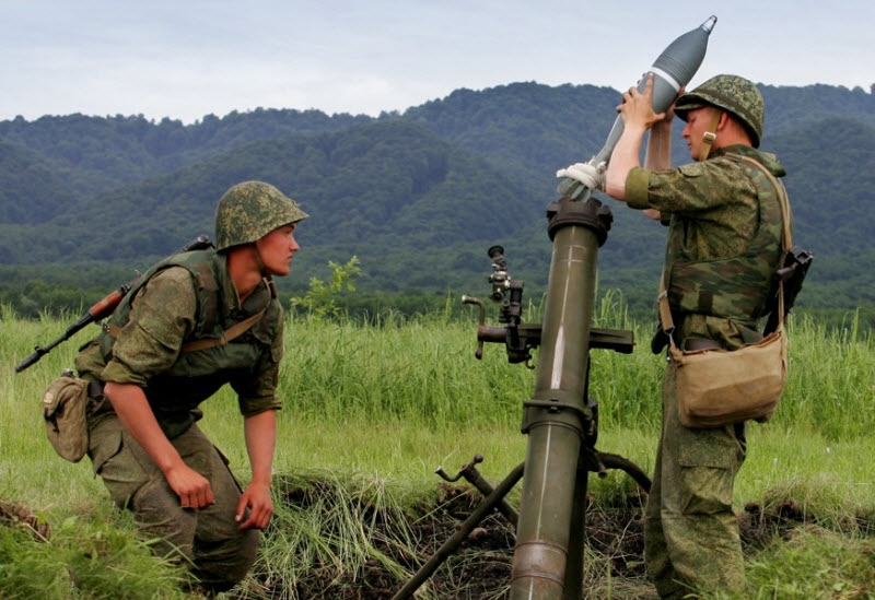 Showing Combat Readiness of the Country