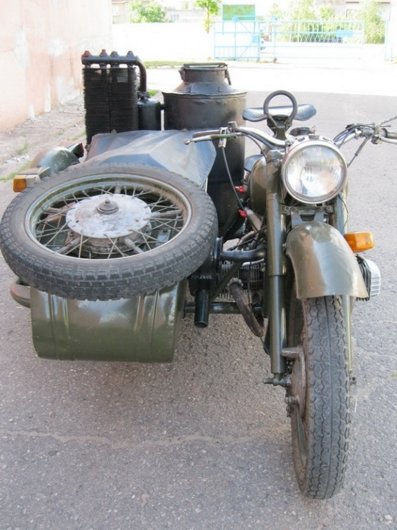 Gas Producer For Motorcycle
