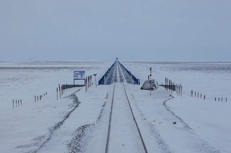 Railway In the Permafrost Zone