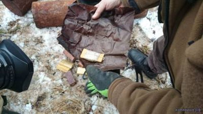 Cache of German Saboteurs Found 70 Years After the War