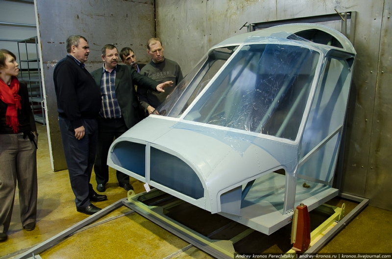 Testing Aircraft Glazing In Russia