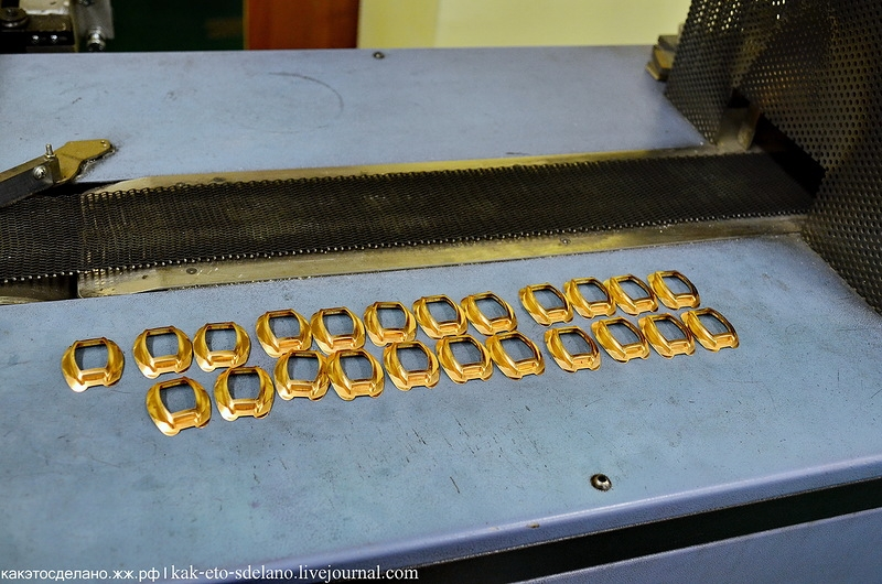How Golden Watches Are Made