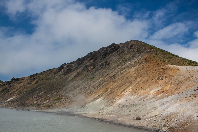 The Unique Volcano of Sakhalin