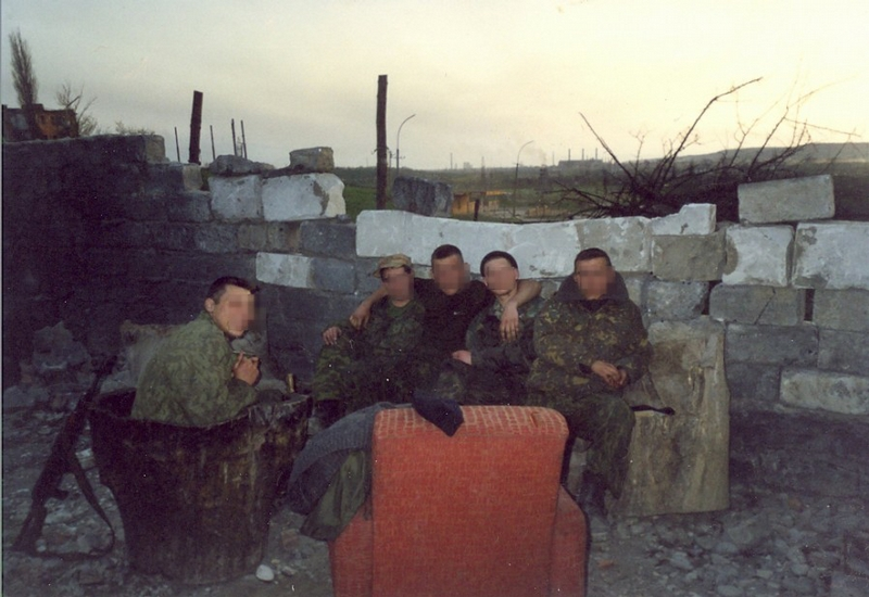 Contract Soldiers In Grozny