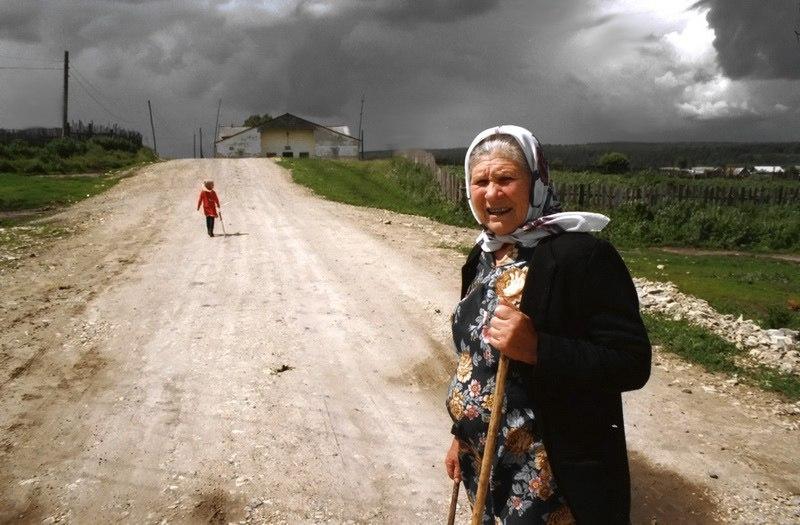 In a Modern Russian Village