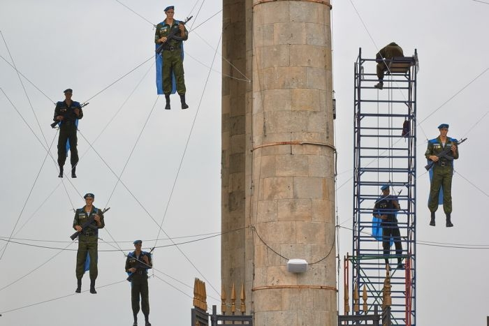 Hanging Troopers