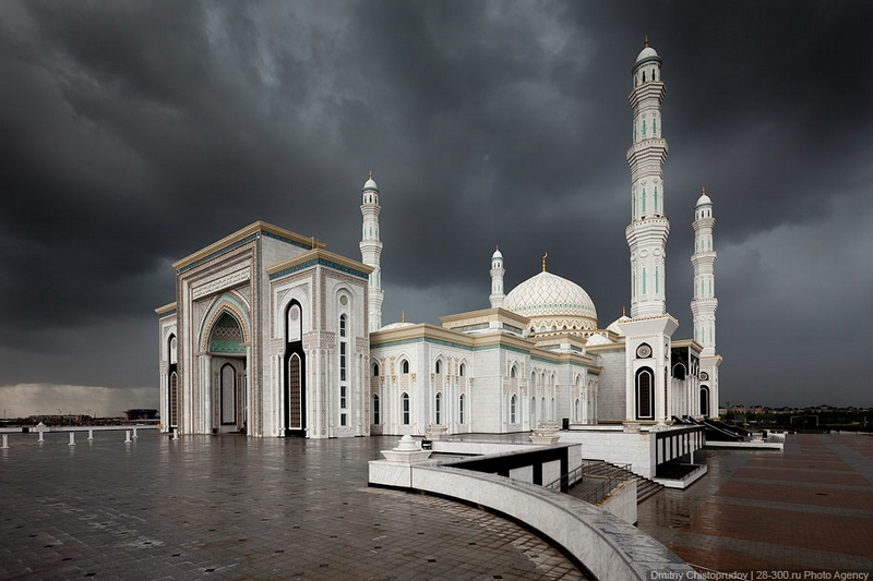 The Biggest Mosque of Central Asia