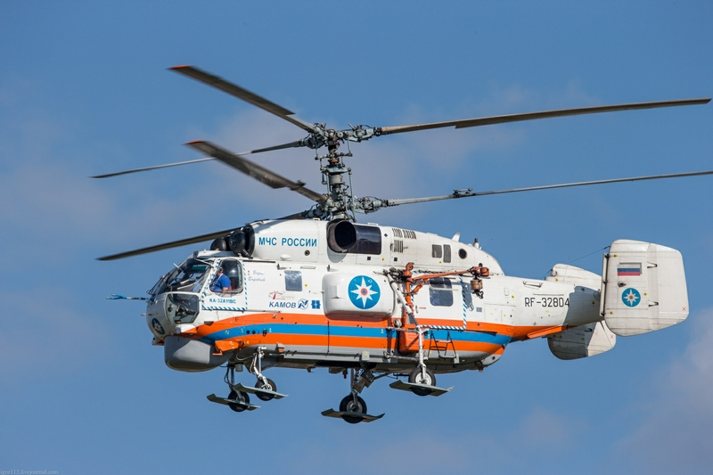 Cool Air Display: Helicopters In Emergency Situations