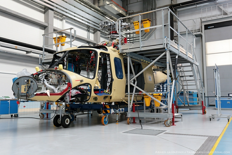 Russian Helicopters Making Company