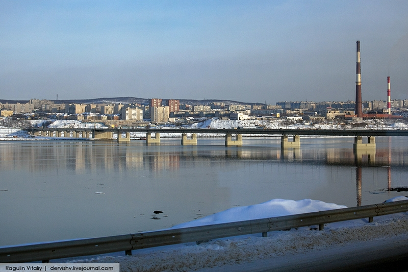 The Largest City Beyond the Polar Circle: Murmansk