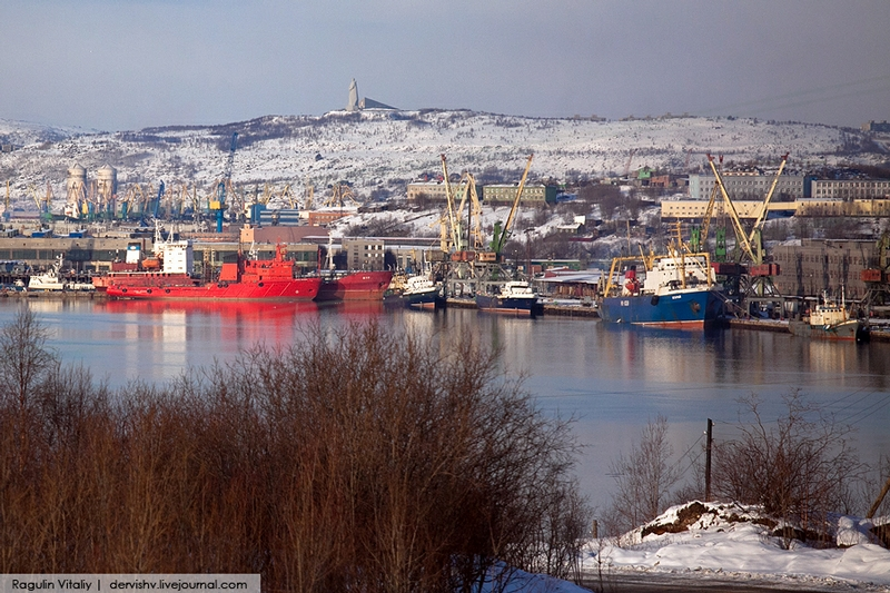 The Largest City Beyond the Polar Circle: Murmansk