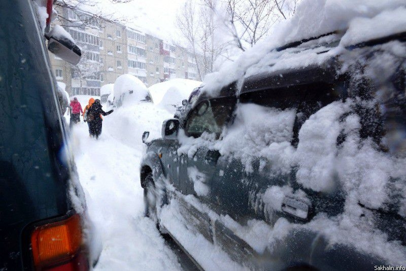 High Snow In Sakhalin
