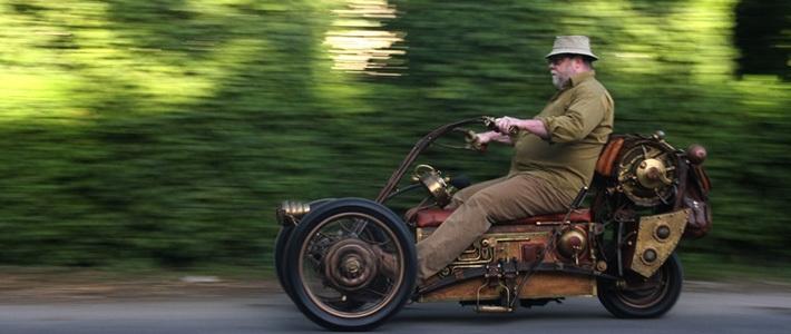 ... Go Kart Plans moreover Home Built Reverse Trike Motorcycles. on