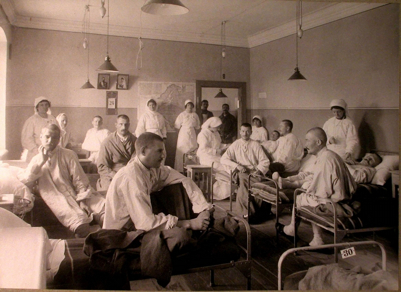 Moscow Military Hospitals In 1914