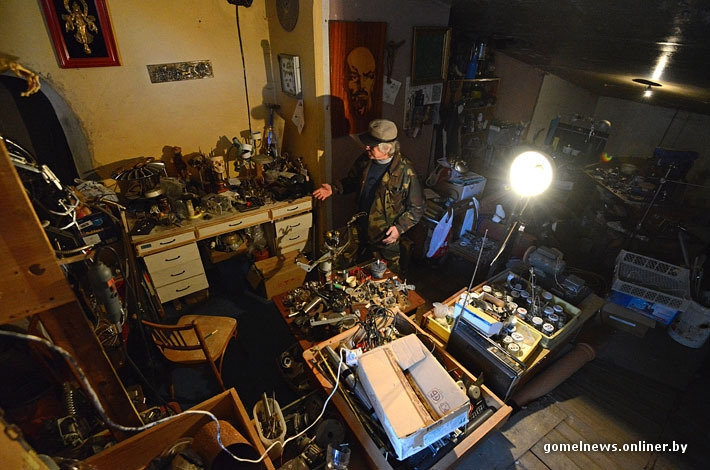 Metal Monsters Living In a Bunker
