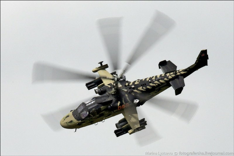 Ka 52 Helicopter: Firstly Shown In Public