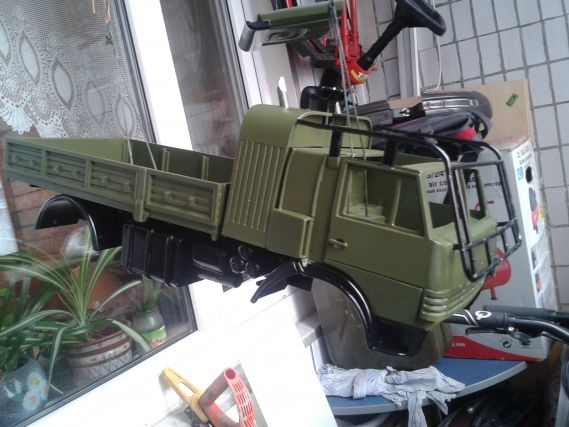 Cool Truck Model Made From Plastic