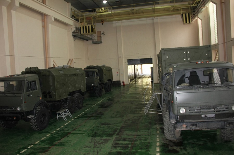 Factory of Russian Electronic Warfare Systems, Military Optics And More