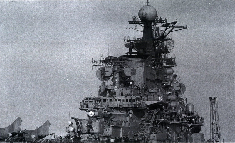 Aircraft Carrying Heavy Soviet Cruiser Kiev