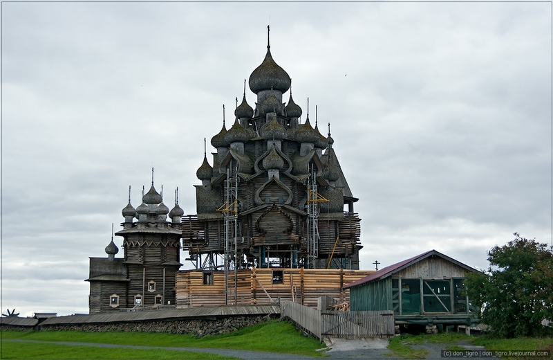 The Island of Old Russian Churches