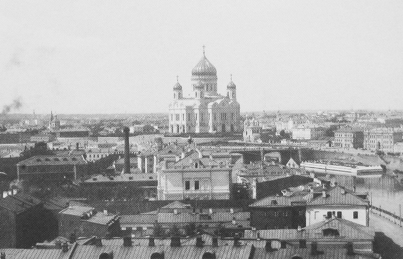 On the Roof of the Formerly Biggest Hotel In Moscow