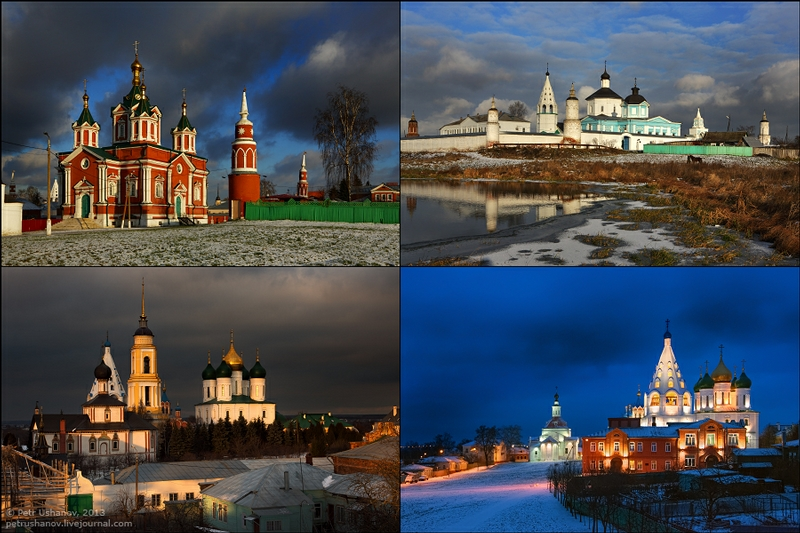 Some Landscapes of the Old Russian City