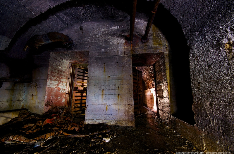 Really Huge Abandoned Bunker