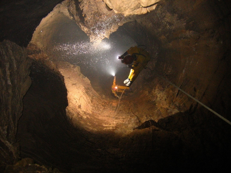 Kruber Cave, the Deepest One In the World