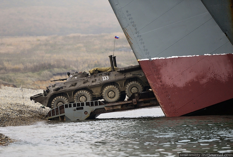 Another Tactical Drill of Russian Marines