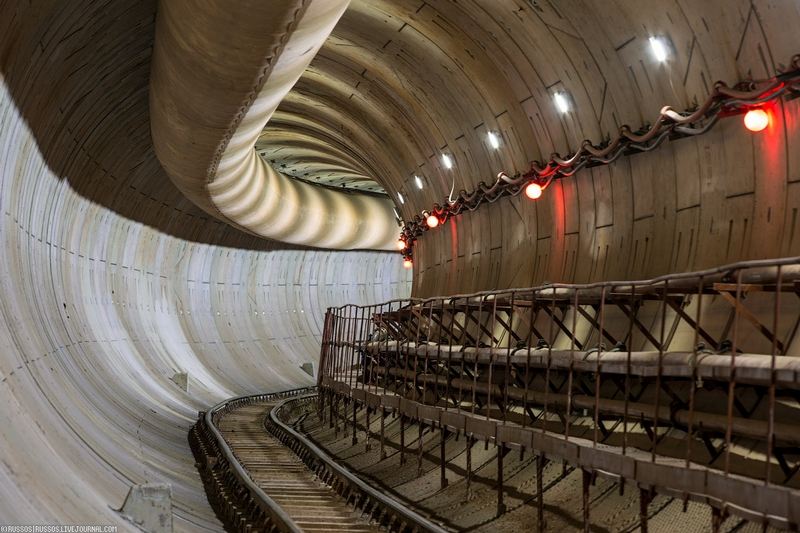 New Pictures of Subway Construction In Moscow