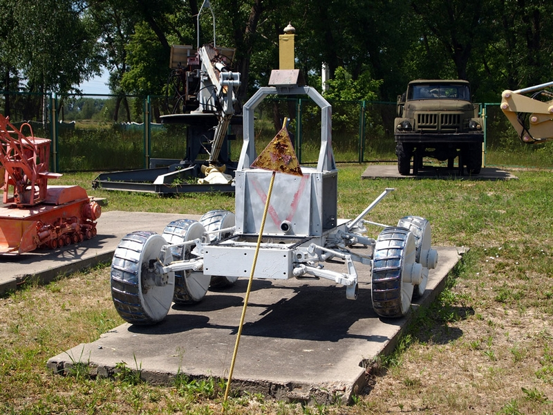 Exposition of the Robotized Equipment In Chernobyl