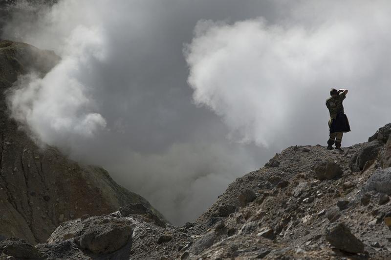 The Live Volcano of Kamchatka