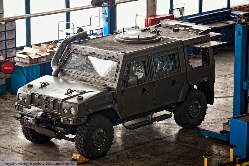 Armored Car IVECO Lynx