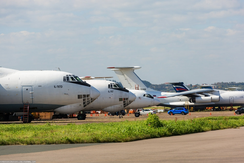 Some Russian Aircrafts From the MAKS Air Show